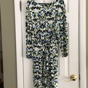 Cynthia Rowley Dresses - CYNTHIA ROWLEY WATERCOLORS DRESS XL